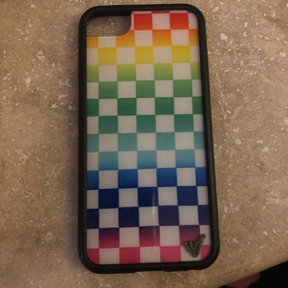 checkered iphone 8 case